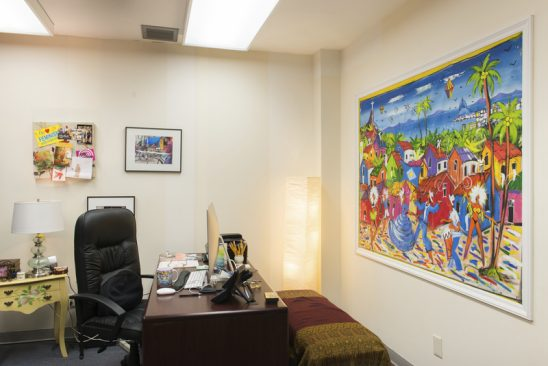 How UCF Faculty Turn Their Offices Into Works Of Art