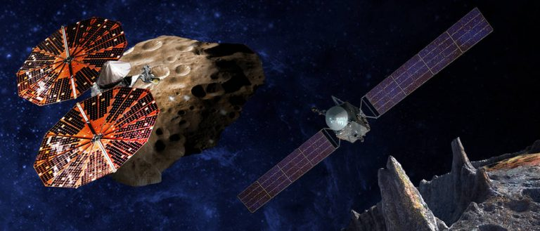 Professor's Research Part of First Mission to Trojan Asteroids