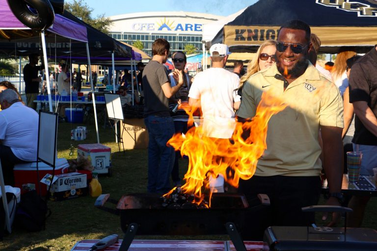 Knights to Begin Tailgating for Weekend Basketball Games