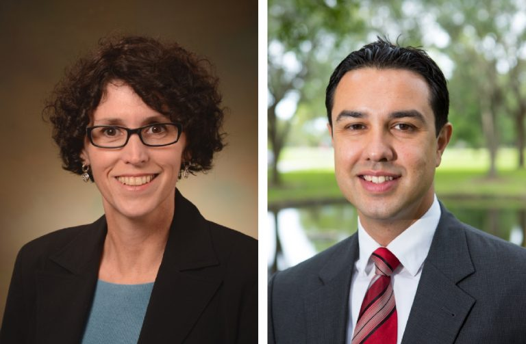 Drs. Annette Bourgault and Michael Valenti