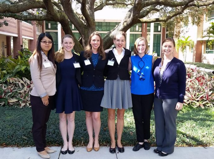 UCF staff and students at the 2017 Florida International Summit at USF in Tampa, Florida