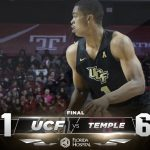 Knights Topple Temple, Prepare for Final Home Game Sunday
