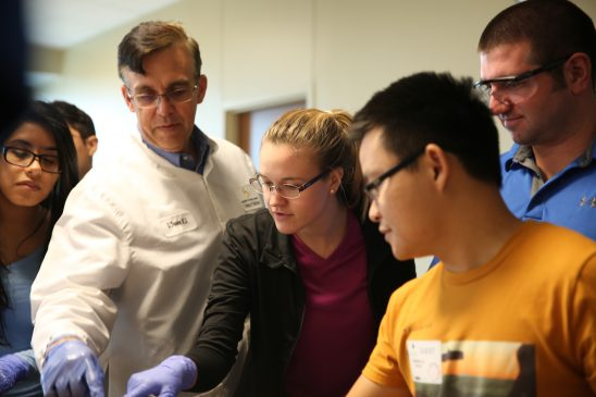 Engineering Students Learn About Greatest Machine: The Human Body