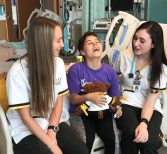 'Warm a Heart': UCF Nursing Students Deliver Cuddly Bears to Sick Children