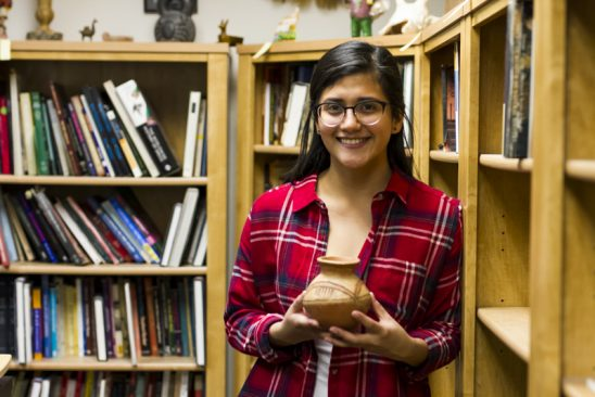 Anthropology Student Seeks Degree to Thank Mom, Dig Up Latin American Roots