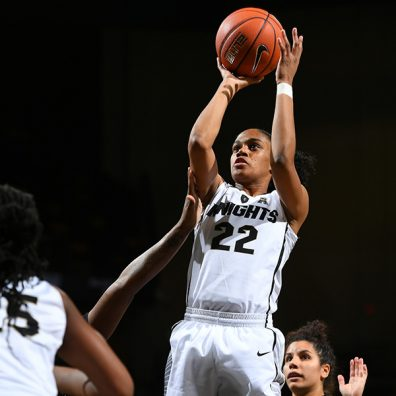 UCF Women's Basketball Tops Stetson for Program's First Postseason Victory