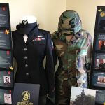 Women Veterans Honored with Display