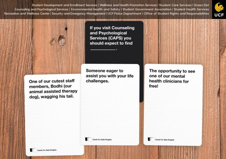 caps cards against humanity ucf