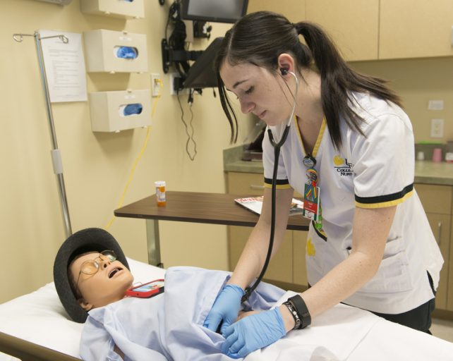 UCF Nursing Students Use Simulations to Care for Transgender Patients