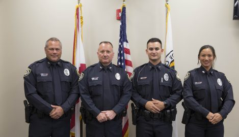 UCFPD Welcomes Four New Officers to the Force