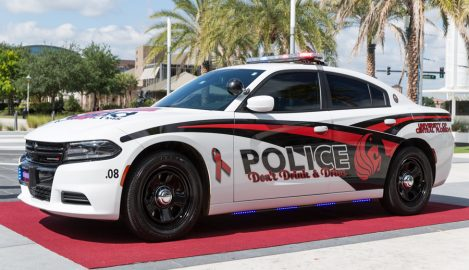 UCFPD Unveils New MADD Car Before Fundraising Walk