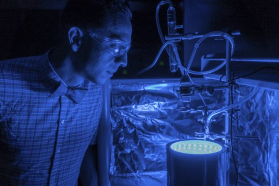 UCF Professor Invents Way to Trigger Artificial Photosynthesis to Clean Air, Produce Energy
