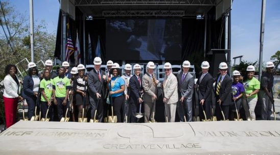 Campus Groundbreaking Signals New Day for Community, Downtown Orlando