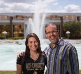 Stepfather, Stepdaughter to Graduate Together Despite Different Paths to College