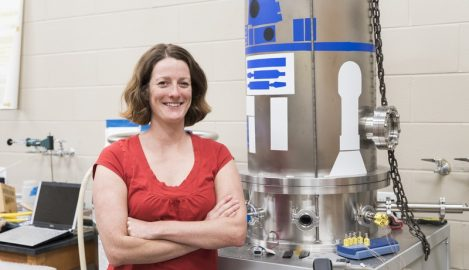 UCF's Dove Wins NASA Award for Space Research