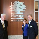 Ravago Lecture Hall Named, Unveiled