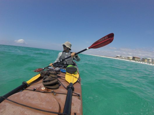 UCF Student Paddles 800 Miles Down Gulf Coast to Raise Money for Environment