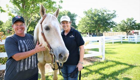 Partnership Horse-Therapy Center Receives International Stamp of Excellence