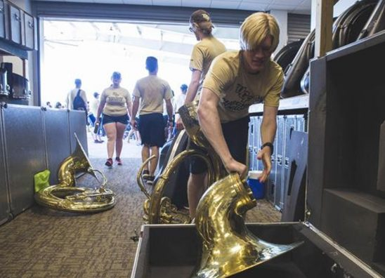 UCF Marching Knights Move Into New Home on Campus