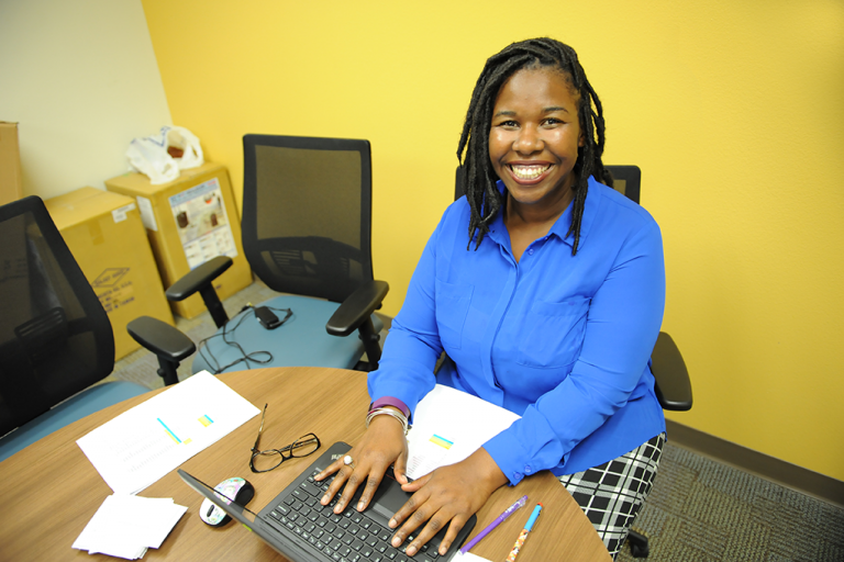Sylvia Revangile, new parent resource coordinator at OCPS ACE and a student in UCF's master's degree program in social work.