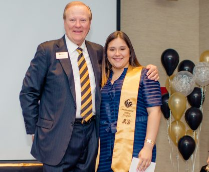 Scholarships, Undefeatable Spirit Propel First-Generation Student to Marketing Degree