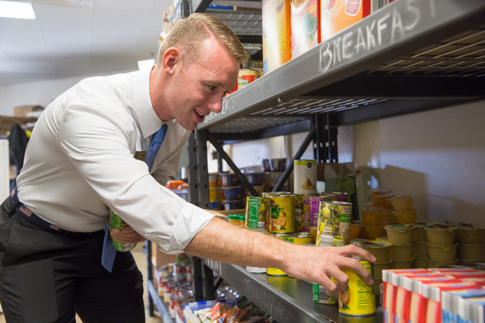 Feed image for UCF Community Fills Knights Pantry Shelves Left Bare by Irma