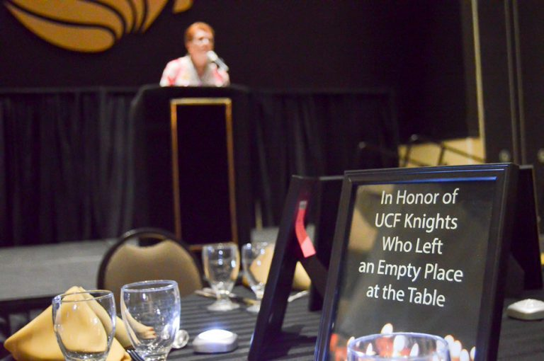 """An Empty Place at the Table"" ceremony will take place to honor people with ties to UCF who have lost their lives due to intimate partner violence."
