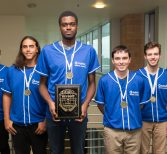 Students Take 3rd Place in Global Cyberlympics in Netherlands