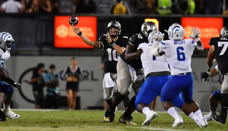 Knights Ranked in Top 25 for First Time Since 2013