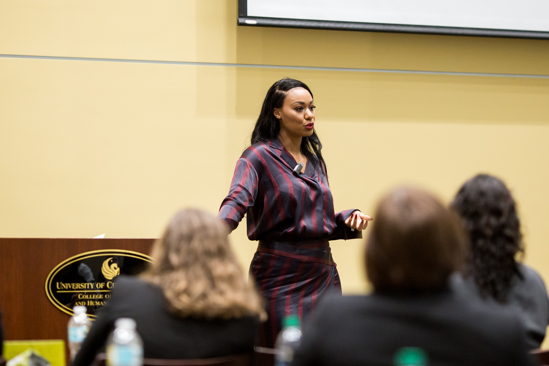 Ucf College Of Business >> After Personal Battle, Alumni Michi, Brandon Marshall on ...