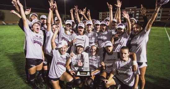 Women's Soccer Clinches Regular Season American Conference Title