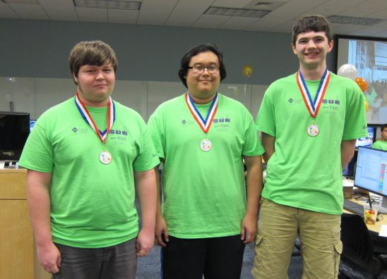 Computer Programming Team Advances to World Finals in China