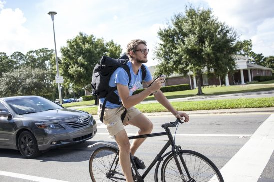 National Organization Names UCF a Bicycle Friendly University
