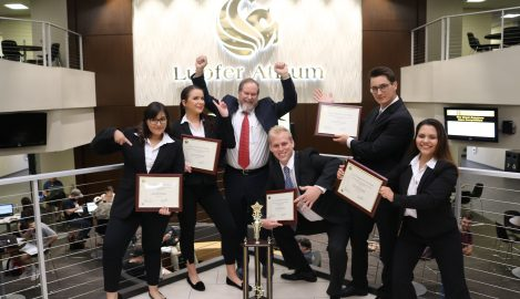 Capstone Case Competition Team Sails Away with Top Prize
