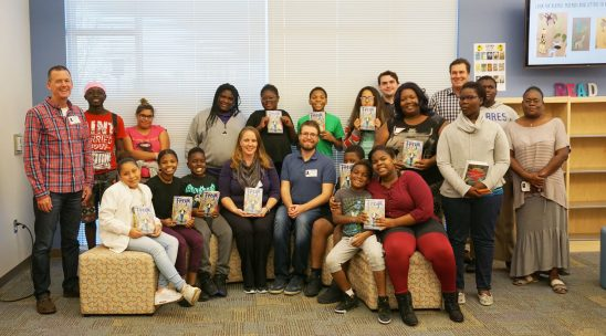 UCF Alumnus, Author Inspires ACE Book Club Students