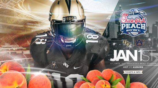 What to Know to Cheer on the Knights at the Peach Bowl