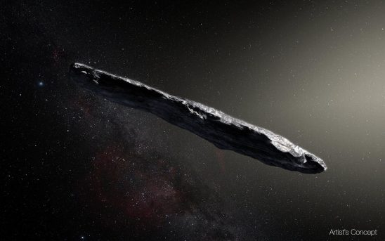 Strange Asteroid from Other Solar System Sparks Excitement