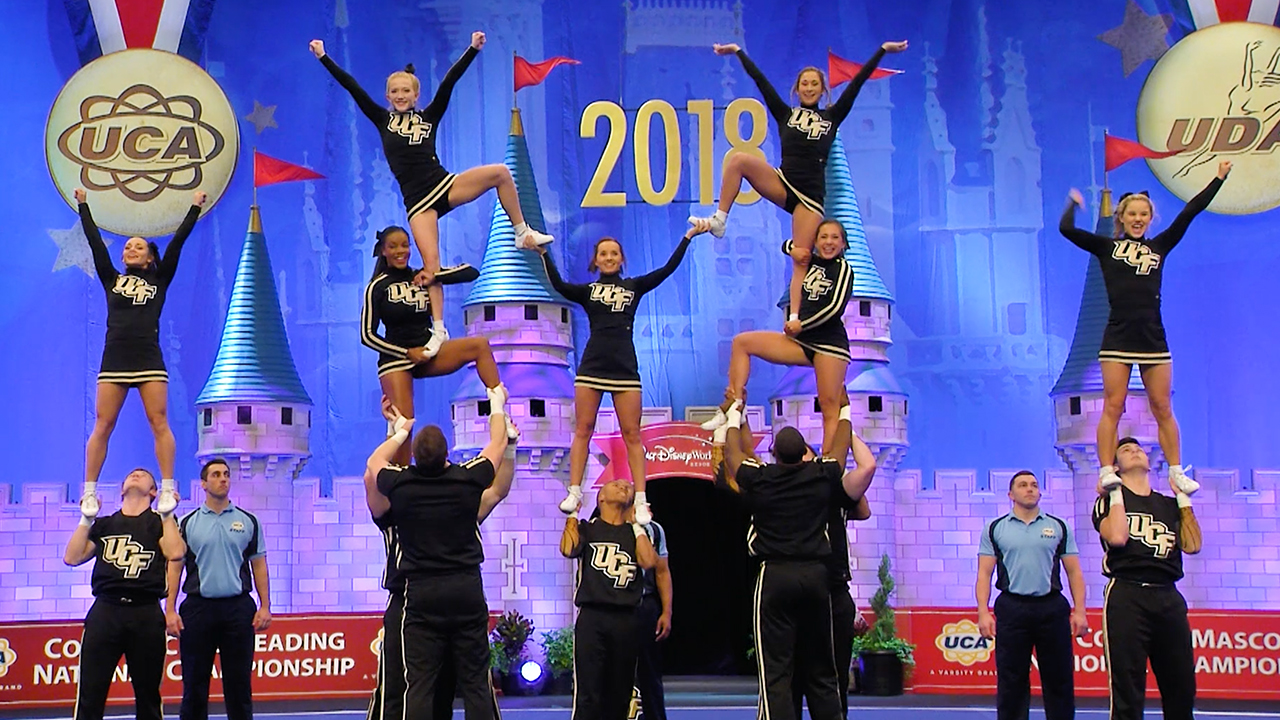 Ucf College Of Business >> VIDEO: Knights Take 2nd in National Cheerleading ...