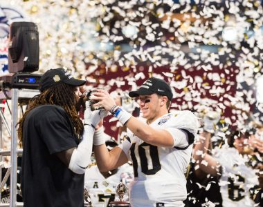 PHOTOS: UCF Defeats Auburn to Win Peach Bowl