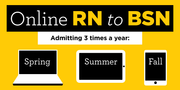 Feed image for More Convenient, More Affordable, Enhanced Online RN to BSN Program