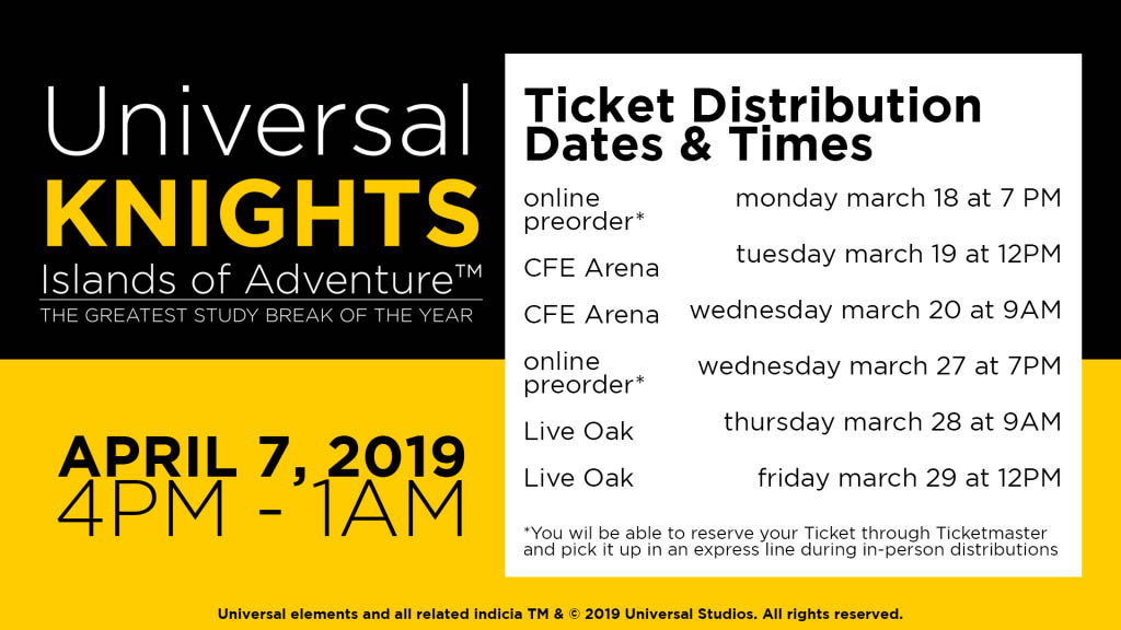 Everything You Need to Know About Universal Knights 2019