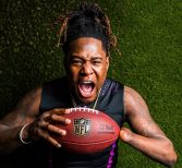 Griffin Shines at NFL Scouting Combine