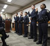 UCFPD Swears in 5 New Officers, Promotes 3