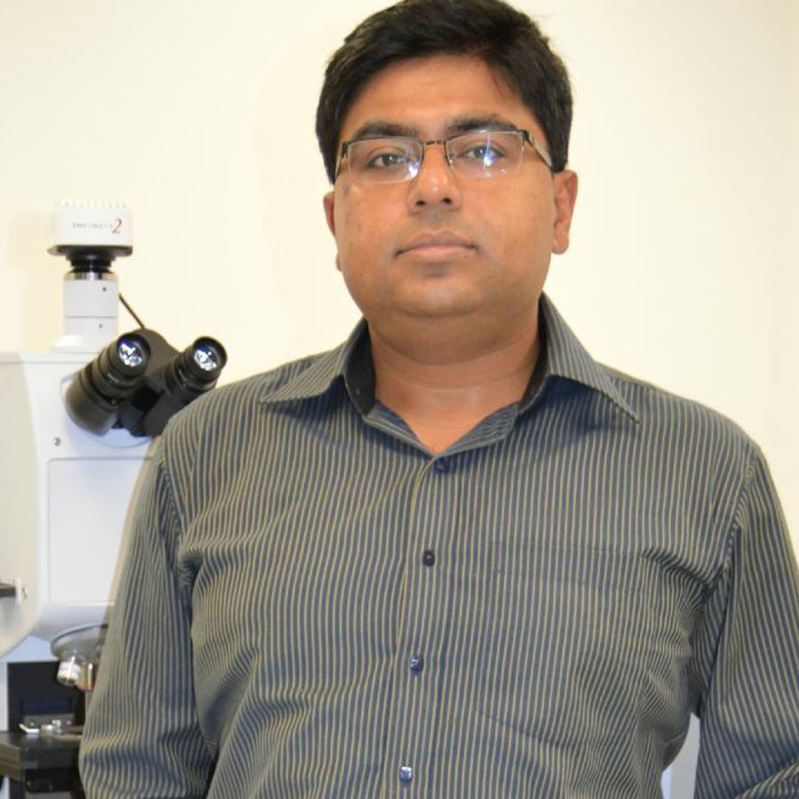 Debashis Chanda Assistant professor of nanotechnology
