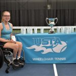 Student Earns UCF's First National Championship for Collegiate Wheelchair Tennis
