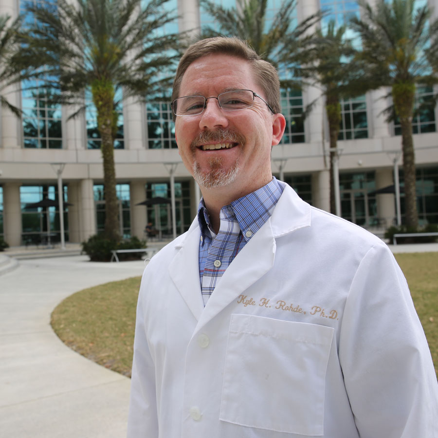 Kyle Rohde Assistant professor of biomedical sciences