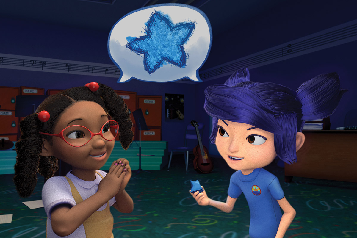 """""""Ukelayla"""" tells the story of Layla, a young girl living with childhood apraxia of speech (CAS), a motor speech disorder that makes it difficult for children to send oral messages from their brain to their mouth."""