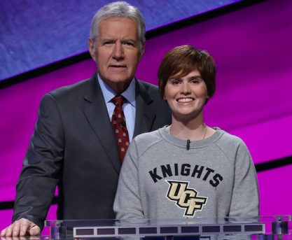 UCF Student Hannah Sage to Compete in Jeopardy! Finals Tonight