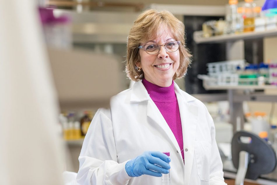 Cherie Yestrebsky '90 Department Chair and Professor of Chemistry