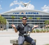 How One Student Uses Drone Photography to Improve Safety at UCF and Arecibo Observatory
